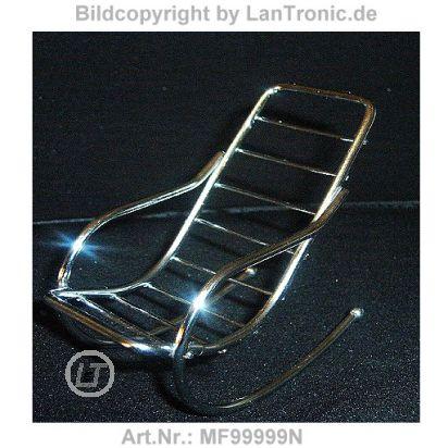 Handy aufbewahrung schaukelstuhl metall verchromt for Metall schaukelstuhl