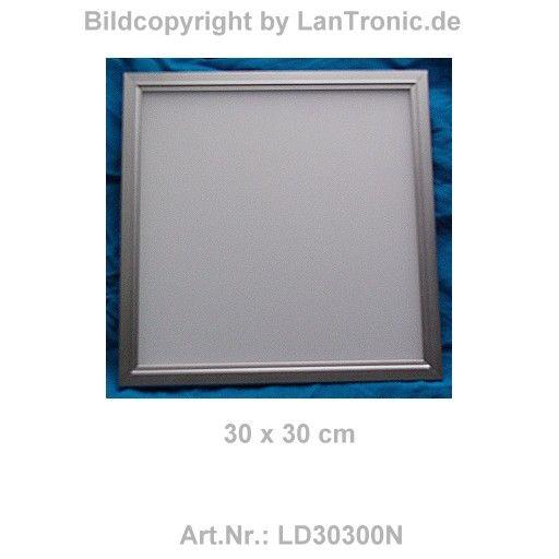 led decken panel 30x30x1 5cm 24v 13w 6000k kaltweiss edgelit lantronic et. Black Bedroom Furniture Sets. Home Design Ideas